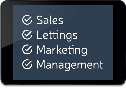 Sales, Lettings, Marketing and Management all in one cloud based system