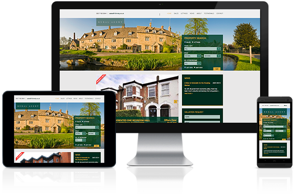 Responsive Estate Agent website