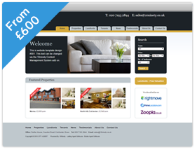 Clear Theme Estate Agent Website