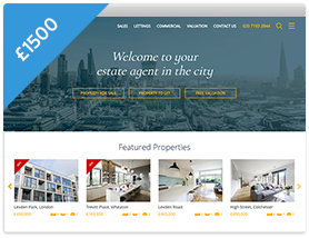 Horizon Theme Estate Agent Website